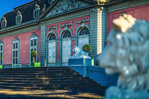 Lions, Decoration, Palace, Design, Animal, Ancient