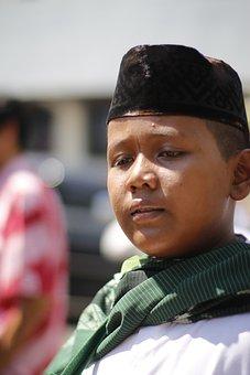 Java, Boy, Ramadan, Peci, Ramadhan, Culture, Diversity