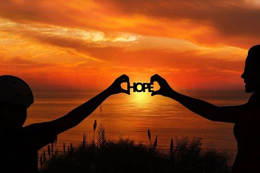 Hope, Forward, Religion, Faith, Mother, Daughter