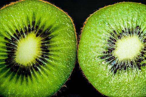 Kiwi, Approach, Vivid, Fruit, Round, Food