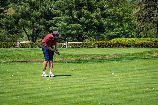 Golf, Golf Course, Putting