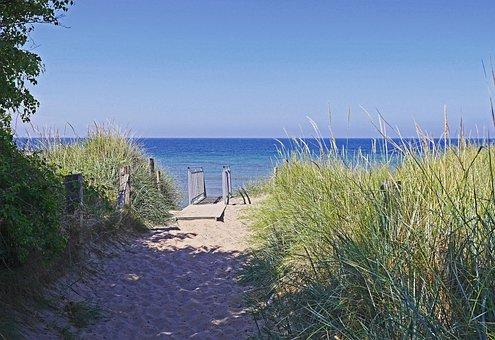 Baltic Sea, Rügen, Steiküste, High Dunes, Sand