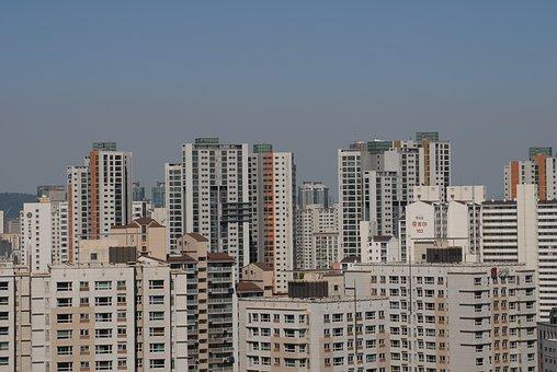 Korea, Republic Of Korea, Seoul, Apartments, City