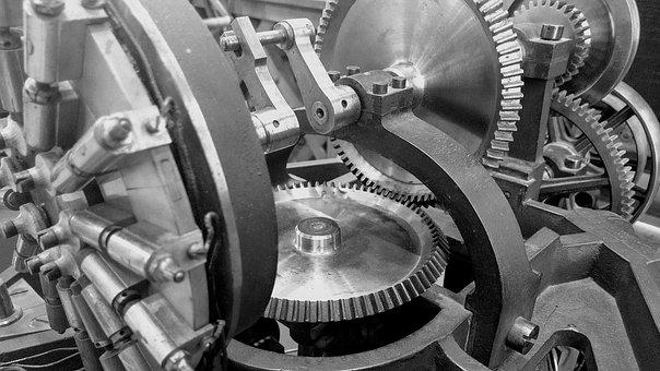 Gears, Machines, Industry