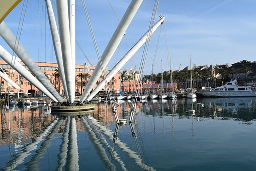 Reflection, Port, Boat, Marine, Browse, Bridges, Water