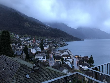 Small Town, Switzerland, Morning