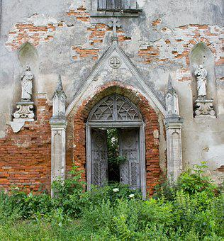 Ruin, Church, Architecture, Ancient, Old, Europe