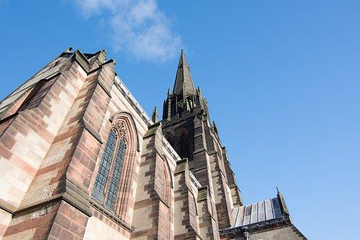 Architecture, Building, Design, Church, Perspective