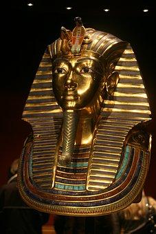 Pharaonic, Tutankhamun, Egypt, Golden, Burial Chamber