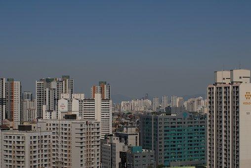 Korea, Republic Of Korea, Seoul, City, Building