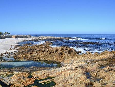 Sea Point, Beach, Ocean, Coastline, Seascape, Surf