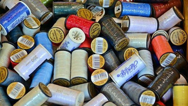 Sewing Thread, Bobbin, Thread, Hand Labor, Haberdashery