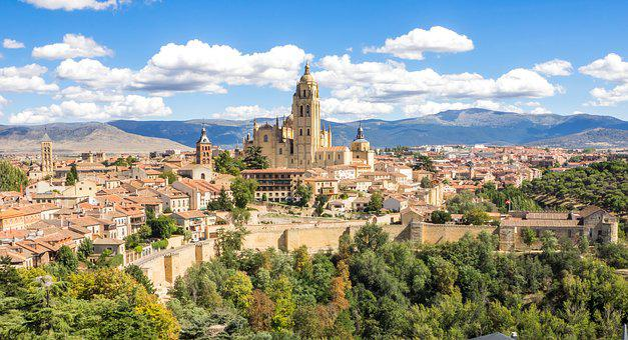 Segovia, Spain, Architecture, Spanish, Travel, Old