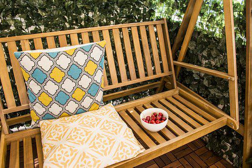 Swing, Summer, Rest, Swing For Vacation, Deck Chair