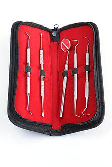 Dentistry, Tooth, Set, Tools, Dentist, Healthy Teeth