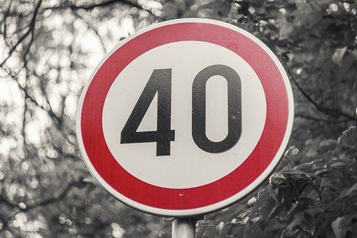 Sign, Limit, Speed, Traffic, Road, Warning