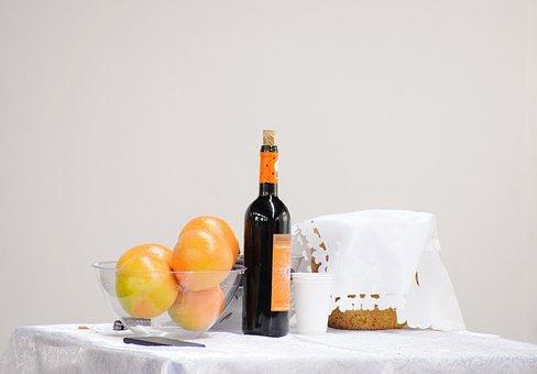 Grapefruit, Wine, Table, Fruit, Bar, Orange