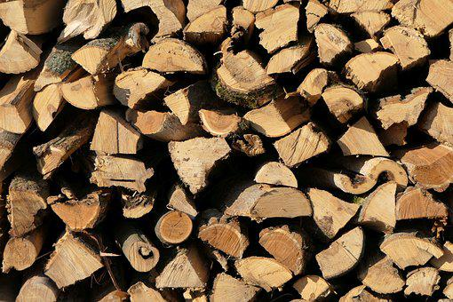 Holzstapel, Wood, Firewood, Stack, Stacked Up
