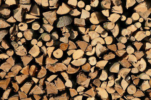 Holzstapel, Wood, Growing Stock, Stacked Up, Firewood