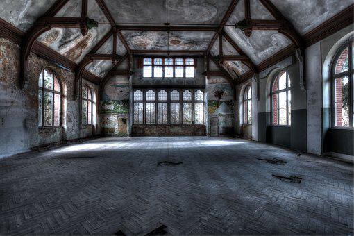 Lost, Places, Abandoned, Building, Ruin, Lapsed