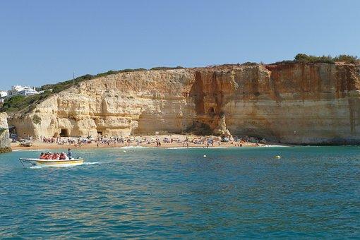 Portugal, Algarve, Coast, Rock, Rocky Coast, Atlantic