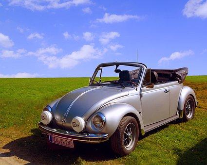 Volkswagen, Vw, Beetle, Cabriolet, Cabrio