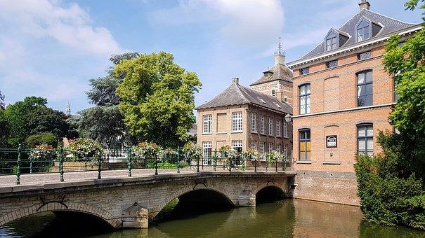 Lier, City, Belgium, Building, Old Buildings