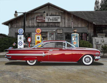 Car, Vintage, Classic, Custom, Collector, Chevy