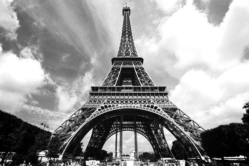 Eiffel Tower, France, Paris, Eiffel, Architecture