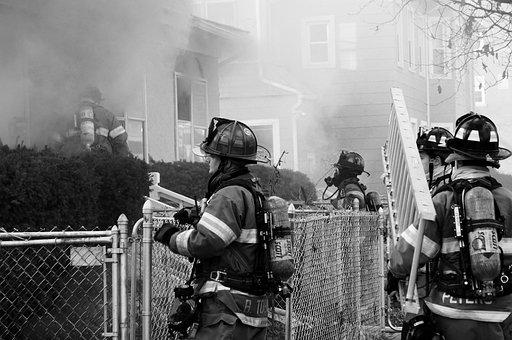Firemen, Fire, Fireman, Emergency