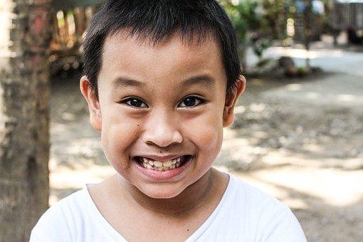 Kids, Face, Smile, Child, Happy, Cute, Portrait, Boy
