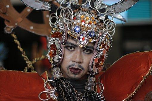 Carnival, Face, Jav, Masquerade, Costume, Fashion