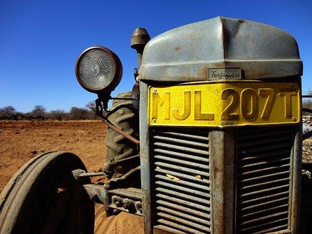 Tractor, Ferguson, Farming, Old, Machine, Vehicle