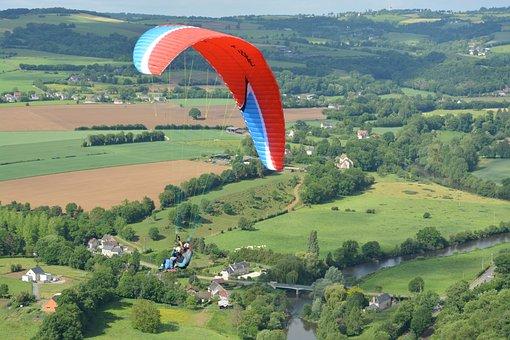 Paragliding, Paragliding Bis Place, Flight Paragliding