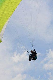 Paragliding, Flight Paragliding, Free Flight