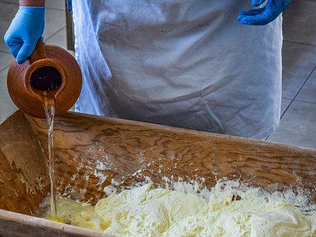 Knead, Flour, Bread, Bakery, Preparation, Homemade