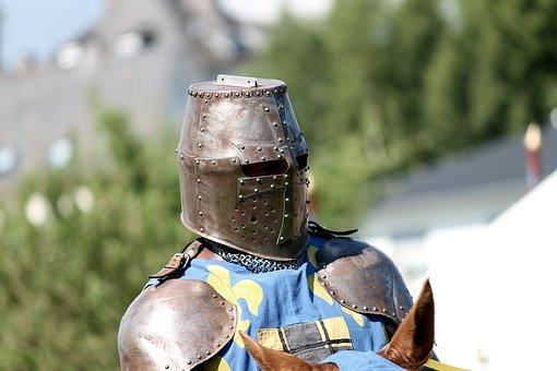 Knight, Armor, Helm, Reiter, Horse, Middle Ages