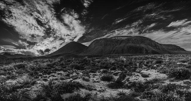 New Zealand, Mount Doom, Tongariro, Ngauruhoe, Crossing