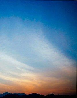 Nature, Sky, Clouds, Blue, Blue Sky, Sky Blue, Cloudy