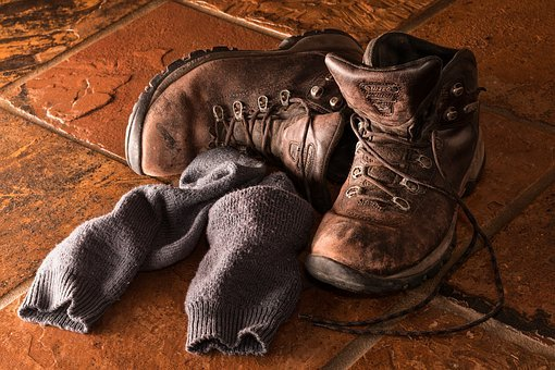 Boots, Footwear, Workwear, Socks, Shoes, Leather, Pair