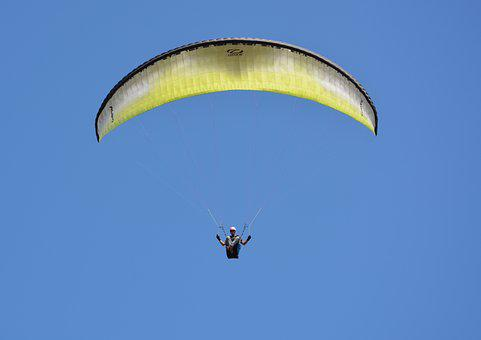 Paragliding, Paraglider, Free Flight, Sports Activities