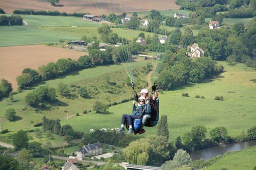 Paragliding, Paragliding Bis Place, Paragliders