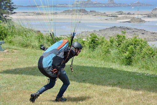 Paragliding, Off Paragliding, Paraglider