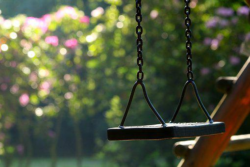 Swing, Park, Playground