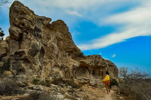 Rock, Formation, Geology, Erosion, Path, Hill, Trekking