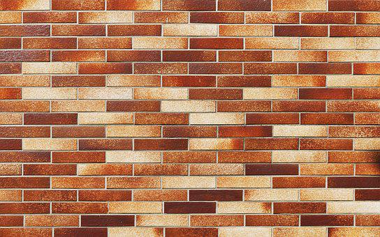 Brick, Facade, Clinker, Hauswand, Joints, Pattern