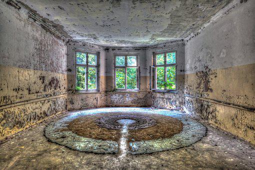 Lost, Places, Leave, Building, Ruin, Lapsed