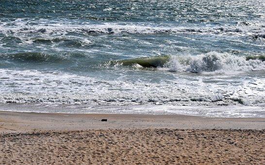 Ocean, Beach, Waves, Foam, Sea, Sand, Summer, Travel