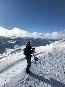 Winter, Ski Area, Panorama, Snow, Wintry, Mountains