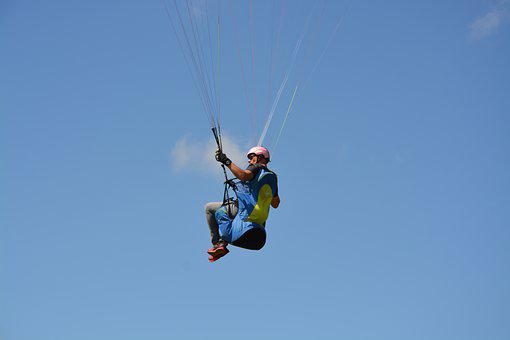 Paragliding, Paraglider, Sports Activities, Fly